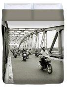 Trang Tien Bridge Duvet Cover