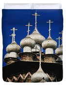 Transfiguration Cathedral On Kizhi Duvet Cover