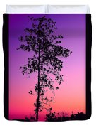 Tree At Twilight Duvet Cover