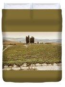 Tree Circle - Tuscany  Duvet Cover