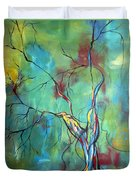 Tree Of Winding Color Duvet Cover
