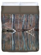 Tree Reflection Duvet Cover