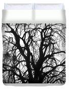 Tree Silhouette Duvet Cover