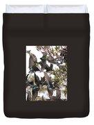 Tree Swallow Frenzy Duvet Cover