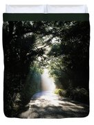 Treelined Road Duvet Cover