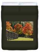 Trees In Autumn Duvet Cover