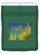 Treetop Color Duvet Cover