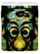Tribal Mask Duvet Cover