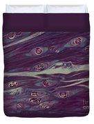 Trichinella Spiralis Duvet Cover