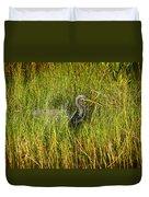 Tricolored Heron Duvet Cover