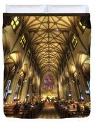 Trinity Church Nyc Duvet Cover