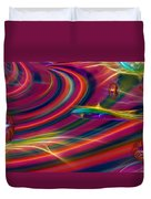 Trippin' Duvet Cover