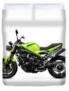 Triumph Speed Triple Motorcycle Duvet Cover