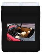 Triumph Tr6 Seats Duvet Cover