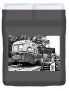 Trolley Car Diner - Philadelphia Duvet Cover