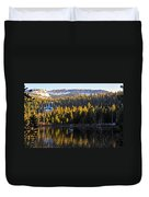 Trolling On Twin Lakes Duvet Cover