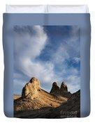 Trona Pinnacles Duvet Cover