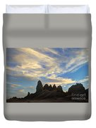 Trona Pinnacles Windswept Duvet Cover
