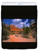 Tropic Canyon In Bryce Canyon Park Duvet Cover
