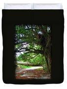 Tropical Banyan Path Duvet Cover