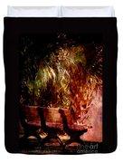Tropical Bench Duvet Cover by Susanne Van Hulst