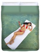 Tropical Comfort Duvet Cover