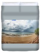 Tropical Seasonal Monsoon Rain Duvet Cover