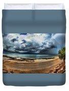 Tropical Seasonal Monsoon Rain V3 Duvet Cover