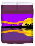 Tropical Sunrise Duvet Cover