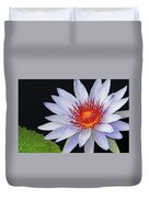 Tropical Waterlily Duvet Cover
