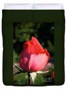 Tropicana Pink  Duvet Cover
