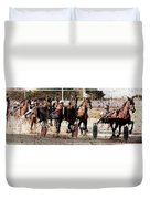 Trotting 3 Duvet Cover