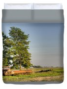 Truck And Tank 11 Duvet Cover