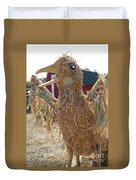 Truly A Scarecrow Duvet Cover