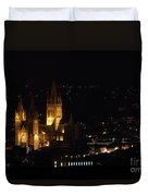 Truro Cathedral Illuminated Duvet Cover
