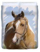 Trusted Steed Duvet Cover