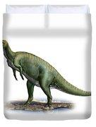 Tsintaosaurus Spinorhinus Duvet Cover