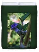 Tube Clematis Duvet Cover