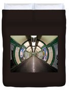 Tube Tunnel Duvet Cover