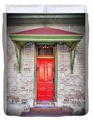 Tucson Red Door Duvet Cover