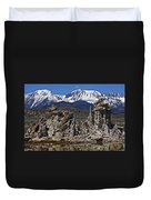 Tufa At Mono Lake California Duvet Cover