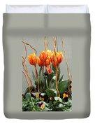 Tulip Arrangement Duvet Cover