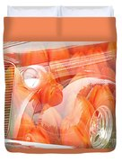 Tulip Car Abstract Duvet Cover