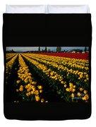Tulip Fields Forever Duvet Cover