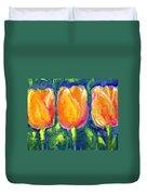 Tulip Gold Duvet Cover