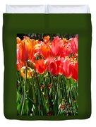 Tulip Uprising Duvet Cover