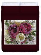 Tulips To You Duvet Cover