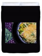 Tuna Noodle Casserole Duvet Cover by Andee Design