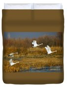Tundra Flight Duvet Cover