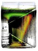 Tunnel Of Colour Duvet Cover